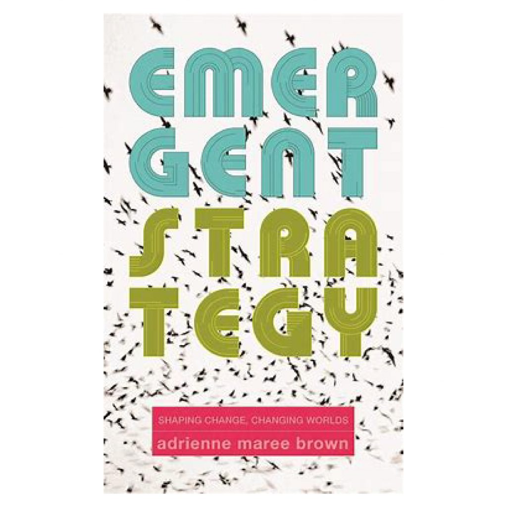 Emergent Strategy Shaping Changing worlds adrienne maree brown book cover
