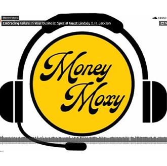 Podcast yellow circle Money Moxy